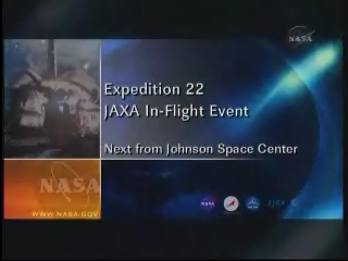 Expedition 22 JAXA In-Fligt Event